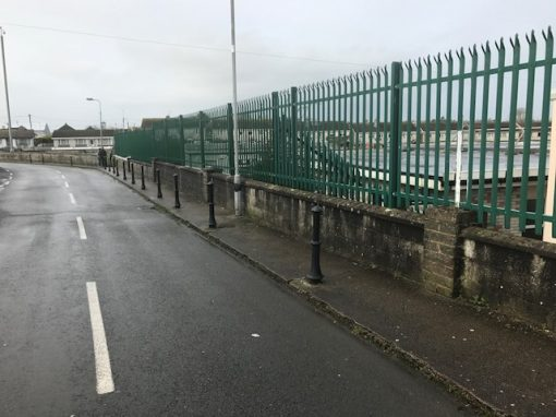Palisade security FRS fencing